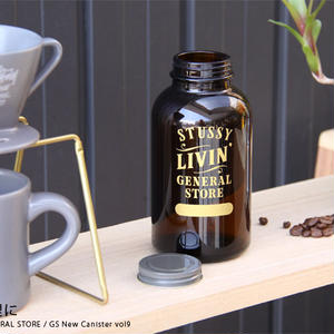 """STUSSY Livin' GENERAL STORE """"GS New Canister / キャニスター vol10"""""""