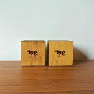 """COW BOOKS(カウブックス)""""Bookends Small / ブックエンド スモール"""""""