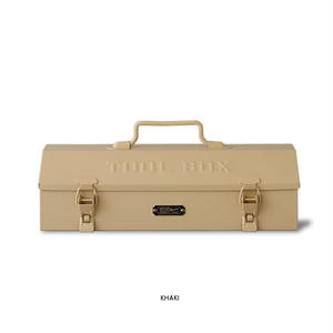 "STUSSY Livin' GENERAL STORE ""GS Steel Tool box[KHAKI] / ツールボックス"""