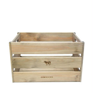 "COW BOOKS(カウブックス)""Wood Box Big"""