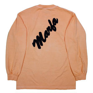 Marfa Titled L/S  Dyed Neives Orange