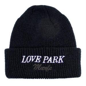 Love Park Knit Cap Black