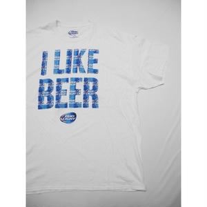 BUD LIGHT  I LIKE BEER T-SHIRT XXL