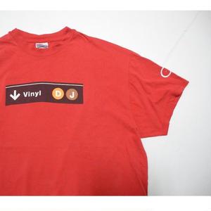 Vinyl DJ kingsize T-shirt XL