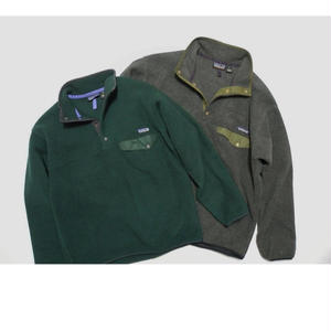 Patagonia SYNCHILLA Snap-T    Gray-L Green-M