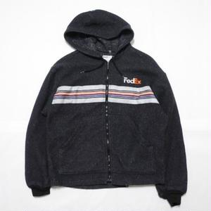 90s FedEx Fleece Parka MADE IN USA M程
