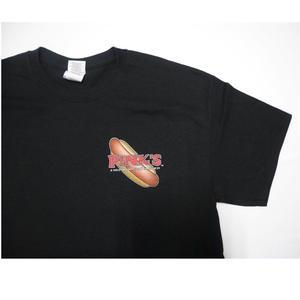 PINK'S HOT DOG   original T-shirt  M