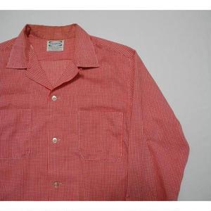PILGRIM  Gingham check Open corer Shirt  M