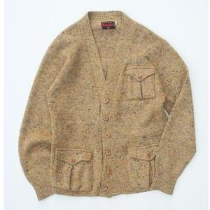 Ward&Ward Color Nep Cardigan S