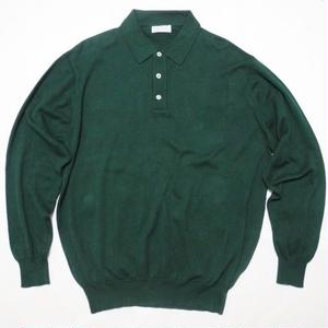 BROOKS BROTHERS  L L/s Knit POLO shirt L  MADE IN USA