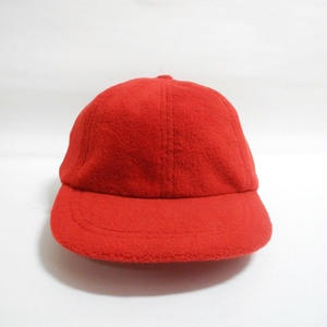 FLEECE CAP RED F