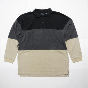 ARROW 3color L/s POLO shirt L