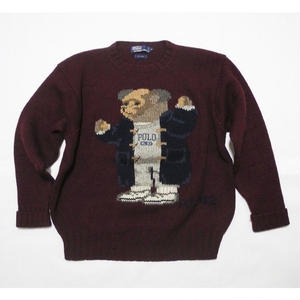 POLO BEAR 92 Wool Knit XL