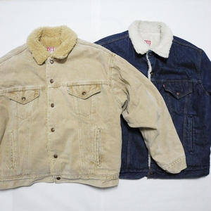 Levis Boa Denim Jacket size   indigo-L           brown XL SOLD