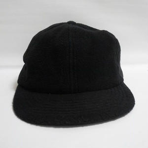 Fleece Black CAP  MADE IN USA