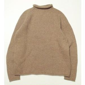 J-CREW ROLL NECK WOOL SWEATER M