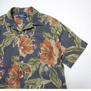 POLO by Ralph Lauren ALOHA SHIRT S