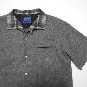 PENDLETON S/s Wool Shirt MADE IN MEXICO L