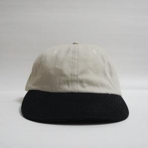 2TONE CAP  Beige×Black