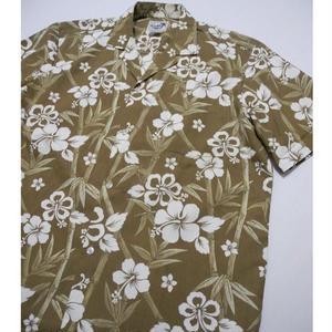 Paradise Style Aloha Shirt MADE IN HAWAIIL