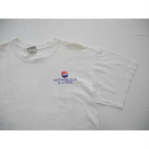 PEPSI-COLA   BIG-LOGO   T-Shirt   MADE IN USA  L