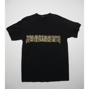 STUSSY T-shirt  M  Front Back Print