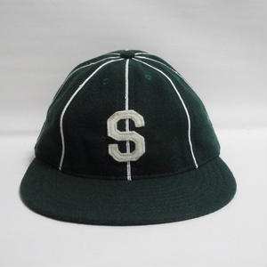 """EBBETS FIELD """"S"""" WOOL CAP"""