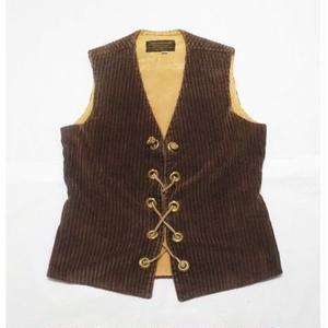 corduroy vest M程
