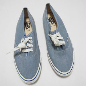 90's VANS AUTHENTIC 26cm~ MADE IN USA DEAD STOCK