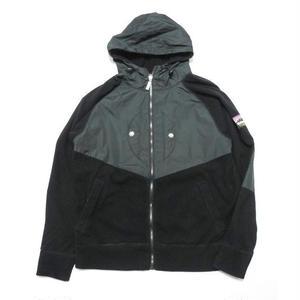 THE HUNDREDS Fleece ZIP UP Parka L