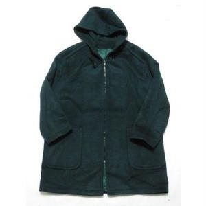 unknown melton half coat 12表記