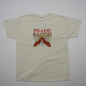PRAISE BACON T-shirt L