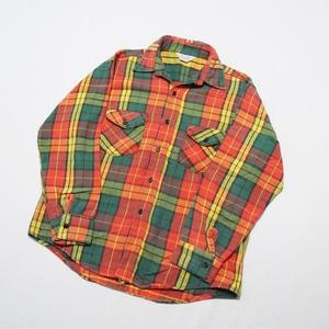 Heavy flannel shirt L