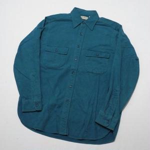 LLBEAN CHAMOIS CLOTH SHIRT L