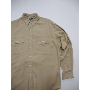 Polo Ralph Lauren    100%Rayon  L/s-shirts    M