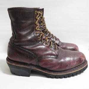 99' RED WING  Logger boots PT91 US9.5EE 27.5cm