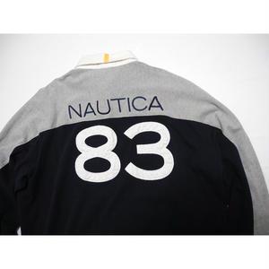 NAUTICA    Rugby Shirt   XL  NO.83