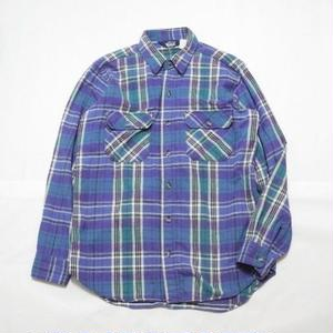 Wool Rich  Flannel Shirt MADE IN USA L