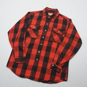 Heavy flannel shirt L