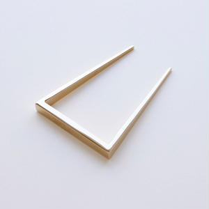 square comb / gold