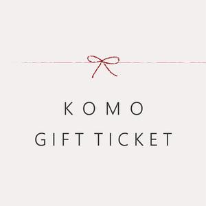 KOMOギフトチケット