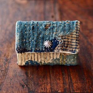 RANRU(襤褸) CARD CASE CONCHO(JAPAN×USA)