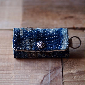 SASHIKO(BORO) KEY CASE CONCHO(JAPAN×USA)
