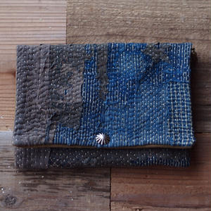 SASHIKO(BORO) PURSE(JAPAN×USA)
