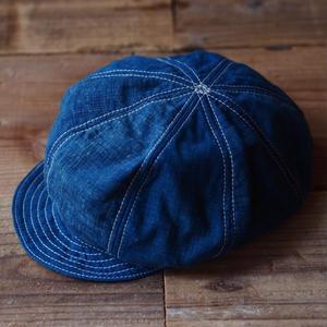 NEWSBOY CAP 藍(JAPAN×USA)