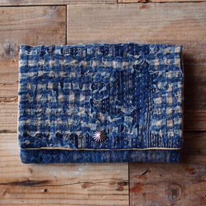 SASHIKO(BORO) PURSE(JAPAN×USA)No.08
