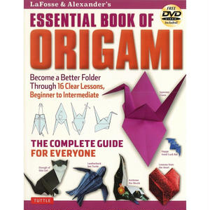 ESSENTIAL BOOK OF ORIGAMI FREE DVD Included!