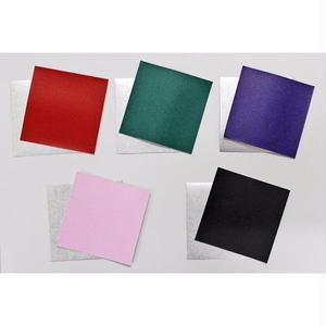 銀箔両面和紙折紙 単色 7.5㎝ 40枚