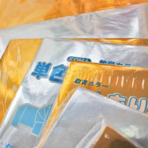 単色おりがみ 金・銀 24㎝角 1袋50枚入