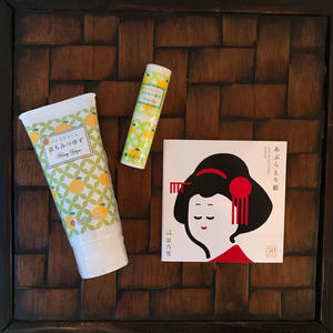 蜂蜜柚子手霜唇膏組合 Honey Citron Hand Cream & Lip Cream Set